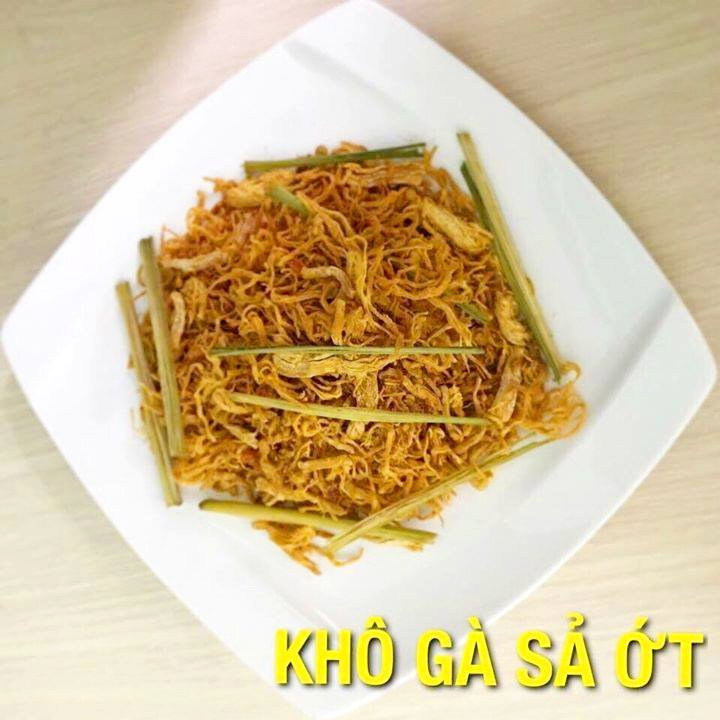 Khô gà sả ớt Hà Trang loại 1 - 200g