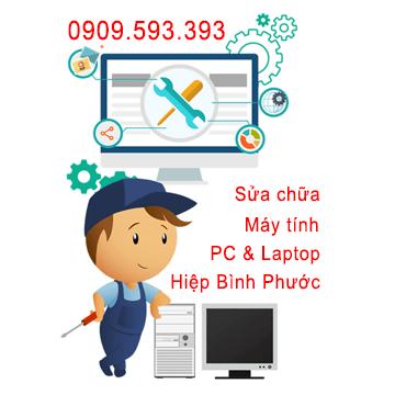 Sửa chữa máy tính tại Phường Hiệp Bình Phước