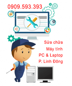 Sửa chữa máy tính tại Phường Linh Đông