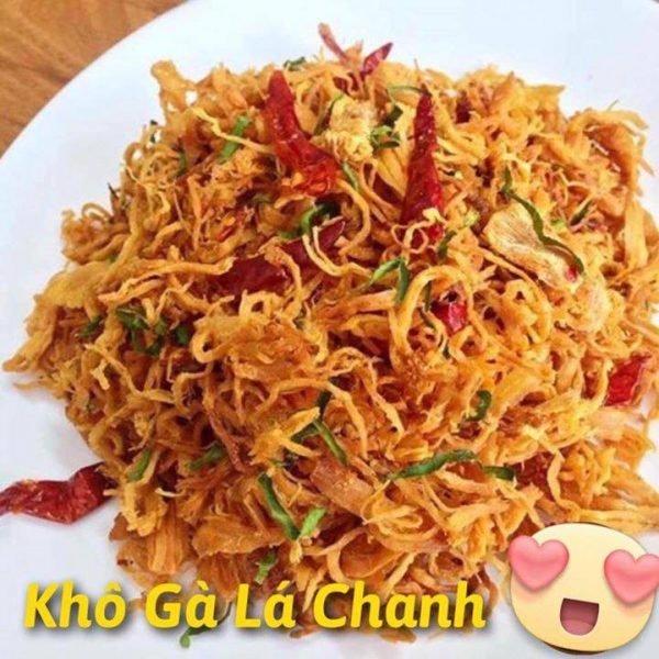Khô gà lá chanh Hà Trang loại 2 - 500g