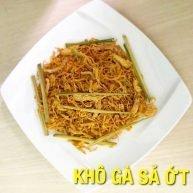 Khô gà sả ớt Hà Trang loại 1 - 500g