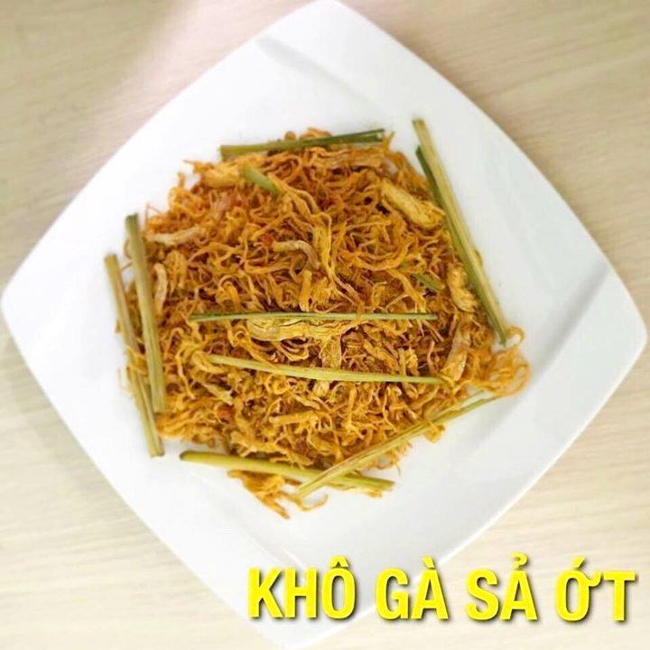 Khô gà sả ớt Hà Trang loại 2 - 500g