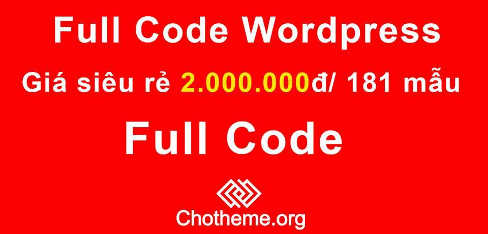 181 Theme Wordpress trênChoTheme.org