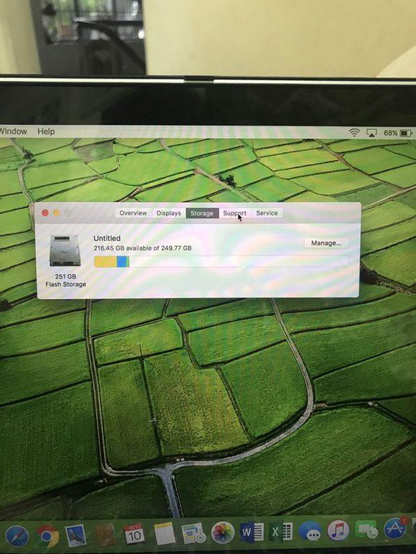 Macbook Pro 13 Early 2015 i5 8GB 256GB tại Bình Thọ Thủ Đức HCM