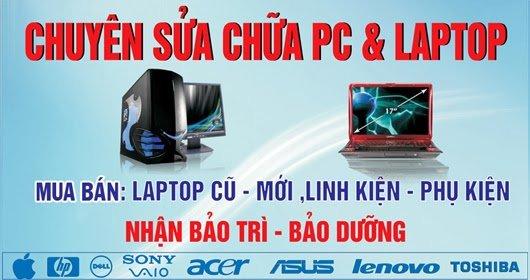 Sửa chữa máy tính tại Phường Linh Trung Quận Thủ Đức sửa chữa PC & Laptop